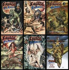 Savage Planet Ultimate Comic Set 1-2 + Secrets of the Empire + Specials w/ COAs