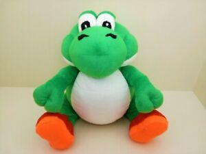 Fat Yoshi plush depressed toy beeg super mario dragon green dinosaur stuffed