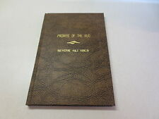 Promise of the Bud by Katharine Hale Hanlin vintage 1974 hardcover poetry book