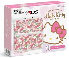 Nintendo 3DS Console Hello Kitty Kisekae Plate Pack Japan Expedited Shipping