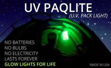 UVPaqlite Glow-in-Dark Luminous Vacuum Pack emergency lighting US made
