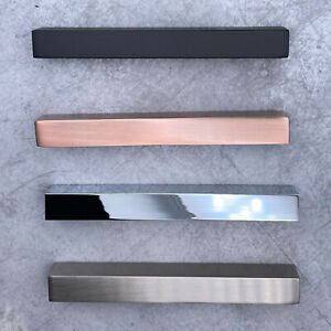 FLAT KITCHEN CABINET DOOR HANDLES / CUPBOARD DRAWER HANDLES / CABINET HANDLES