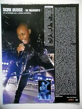 COUPURE DE PRESSE-CLIPPING :  SKUNK ANANSIE  03/2011 Live Report Olympia,Paris