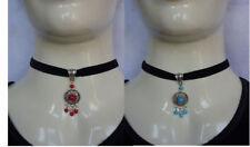 Collares y colgantes de bisutería gargantillas turquesas turquesa