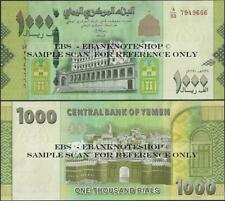 Yemen Arab Republic,1000 Rials,2017,UNC,P New @Ebanknoteshop