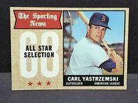 1968 Topps Baseball Card - #369 Carl Yastrzemski NM Boston Red Sox HOF All Star