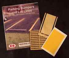 Osborn Models 1097 – Parking Bumpers and Lot Lines – HO Scale