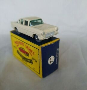 Matchbox  MOKO LESNEY  VAUXHALL CRESTA CAR    No 22. In original box.