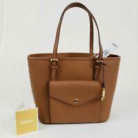 Authentic MICHAEL KORS JET SET ITEM Luggage Medium Pocket Tote Purse Bag $228