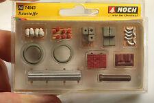 "Noch H0 14843 Baustoffe ""construction materials"" nw.-OVP mit Mängeln"