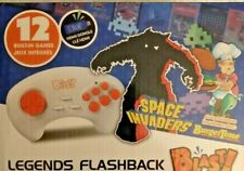Namco Flashback Blast! 12 Games HDMI Controller Space Invaders Burger Time