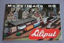X211 Liliput Train CatalogueHo1968 1969 36 pages 20,7x14,2 cm F wagon voiture