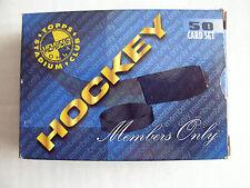 1995 TOPPS STADIUM CLUB MEMBERS ONLY 50 CARD HOCKEY SET