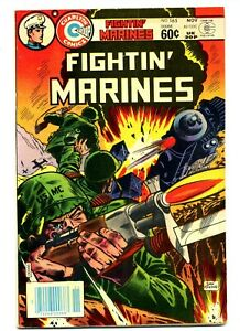 Fightin' Marines #165    Charlton 1982