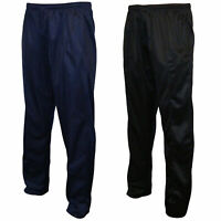Mens Bottom Silky Tracksuit Jogging Jogg Gym Workout Bottoms Trousers Joggers