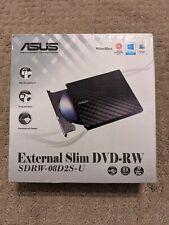 ASUS SDRW-08D2S-U External 8X DVD-RW Optical Drive, Excellent Condition