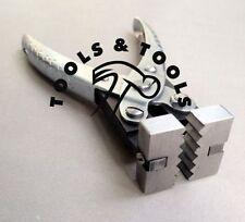 Acción paralela Zig-Zag alicates de metal y alambre de plegado de joyería y artesanía que