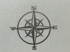 Nautical Wood Compass Rose Wall Hanging Art Decor
