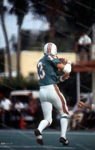 1970s Original Color Photo 35mm Slide *  JAKE SCOTT * Miami Dolphins