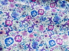 Pigskin leather hide XXL Multicolor Vintage Floral Print smooth finish 2oz