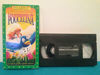 Les aventures de poucelina   VHS tape & sleeve FRENCH