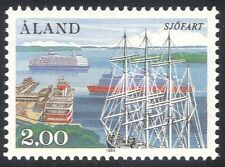 Aland 1984 Ships/Boats/Sail/Sailing/Nautical/Transport/Car Ferry 1v (n27222)