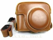 New PU Leather camera case bag pouch for Canon Powershot G15 G16