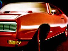 1968 PONTIAC GTO ORIGINAL AD *455/400 V8 engine/block/heads/hood/door/bumper/red