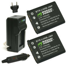 Wasabi Power Battery (2-Pack) and Charger for Kodak KLIC-7006, LB-012