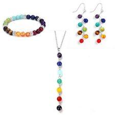 7couleurs Guérison Arbre de Vie Collier Cristal/&Bracelet/& Boucles d/'oreilles