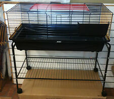 Indoor Rabbit Ferret Guinea Pig Cage Hutch and Stand 100cm PICK UP AVAILABLE