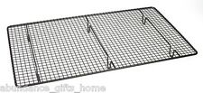 Non Stick Rectangular Wire Cake Baking Cooling Rack Tray 46 x 26cm *NEW*