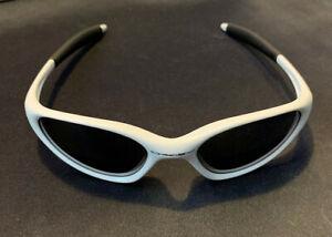 Oakley Minute sunglasses pearl white USED black lens
