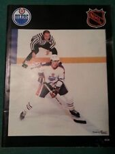1979 Wayne Gretzky Edmonton Oilers vs New York Islanders Program - (Nov 30) Rare