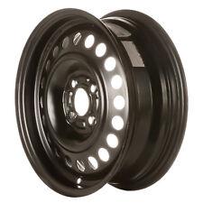 62579 Refinished OEM Wheel Steel Fits 2012-2015 Nissan Versa Painted Black