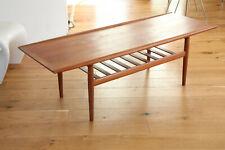 60er TeakGrete Jalk Coffee Table Glostrup Couchtisch Denmark