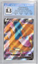 Pokemom Charizard V Full Art Promo SWSH050 Champions Path 🔥CGC 8.5 🔥Graded #4