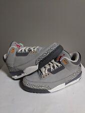Air Jordan Retro 3 III Cool Grey Size 9 LS Rare Mens Basketball 2006
