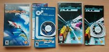 Wipeout Pure and Wipeout Pulse - Sony PSP - North American and European releases