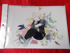 NEW! FINAL FANTASY Vll / A4 Size FILE FOLDER Yoshitaka Amano UK DESPATCH / RARE