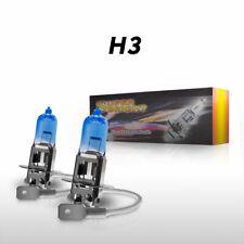 2pcs H3 Halogen Bulbs Headlights 100W Lamp 12v For Cars White Light Super Bright