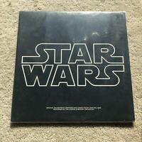 Vintage 1977 STAR WARS Soundtrack VINYL Album 2 LP Insert & Poster - USA Seller
