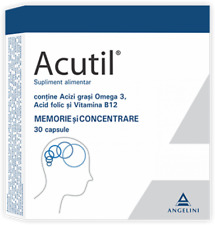 Acutil *30 capsule stimulate memory & brain function