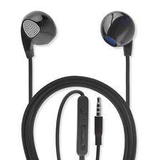 universale in-ear cuffie stereo 3,5 mm cavo audio 1,2 m Cuffie Auricolari Nero