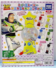Disney Toy Story Buzz Lightyear Mini Capsule Machine, 6pcs - Takara Capsule Toy