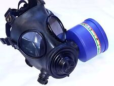 Evolution 5000 Military-Spec NBC/CBRN Gas Mask & 40mm NATO Filter Exp 6/2022 NEW