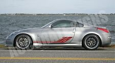 NISSAN 350Z 370Z SIDE GRAPHICS (PAIR) CAR DECALS GRAPHICS