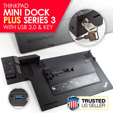 Lenovo ThinkPad Mini Plus with USB 3.0 / KEY T530 T430 L430 L330 Docking Station