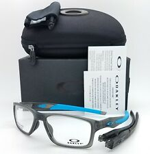 NEW Oakley Crosslink MNP RX Frame Satin Grey Smoke Blue OX8090-0255 55mm GENUINE