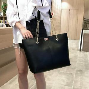 Women pu Leather Handbags Female Shoulder bag Lady Tote Large Capacity Zipper